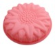 Flower shape silicone backing cup muffin cupcake moulds