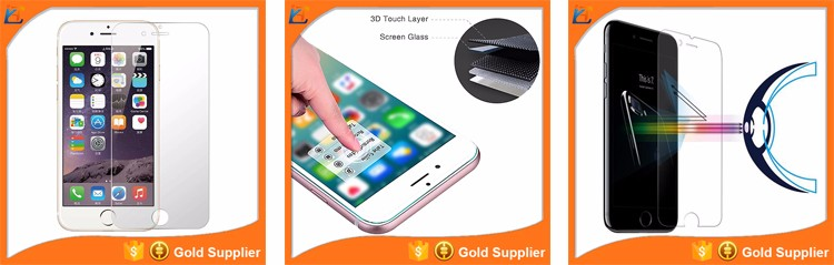 Smart phone glitter 100 piece for samsung galaxy s6 s7 s7 edge tempered glass screen protector