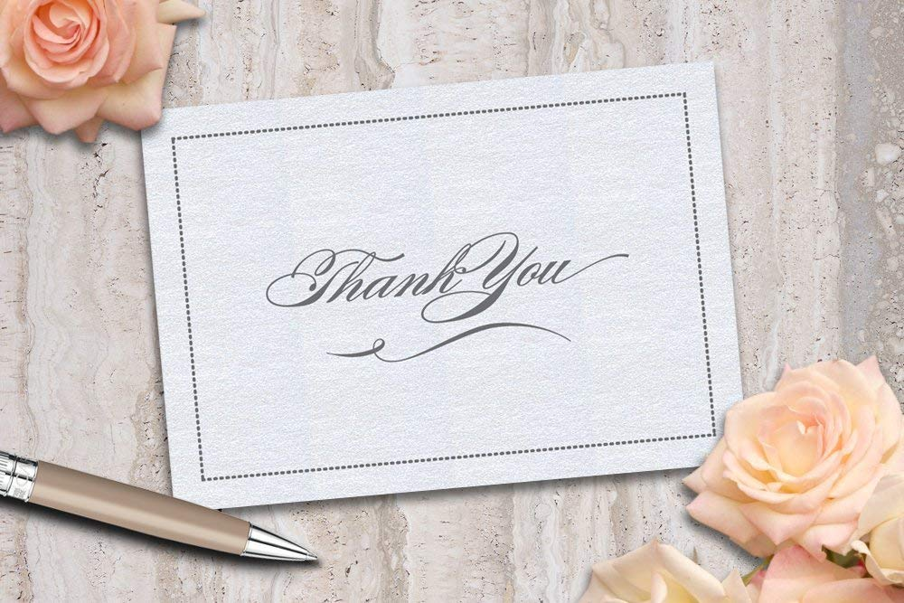 simple thank you note