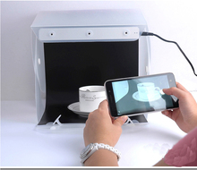 Support for mobile power Mini photo studio for 3D product photography