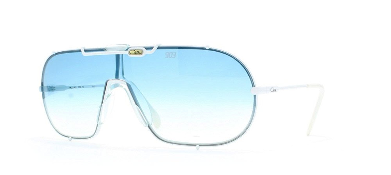 fc50c8502b Get Quotations · Cazal 903 70 White Authentic Men - Women Vintage Sunglasses