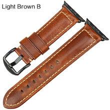 Кожаный браслет MAIKES для Apple Watch, ремешок для iWatch, 42 мм, 38 мм, 44 мм, 40 мм, 4, 3, 2(Китай)
