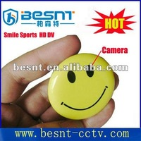 New Style Besnt Smile mini Camera Happy Face HD Smile Face Sport Mini DV video cmos Camera BS-771