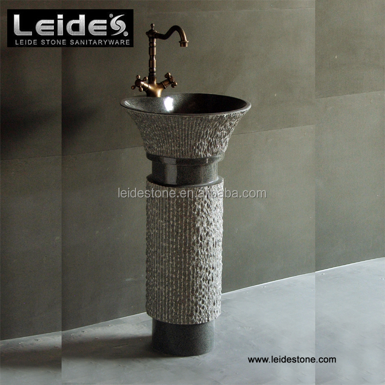 Stone Bathroom Pedestal Sinks, Stone Bathroom Pedestal Sinks Suppliers And  Manufacturers At Alibaba.com