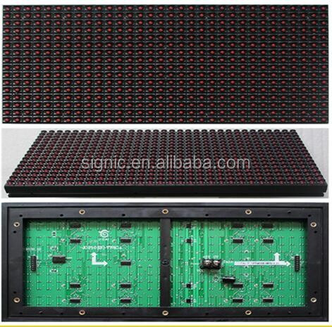 P10 Red Color dual color LED Display Module for Single Color LED Message Center