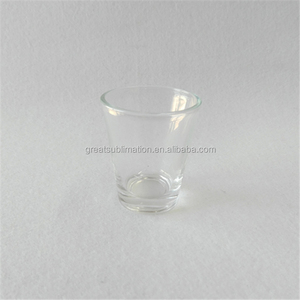 sublimation 2 oz shot glass cups, 2oz cheap glass cup divided shot glass