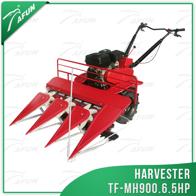 new mini corn combine harvester wheat and rice reaper harvested forest machine cheap price