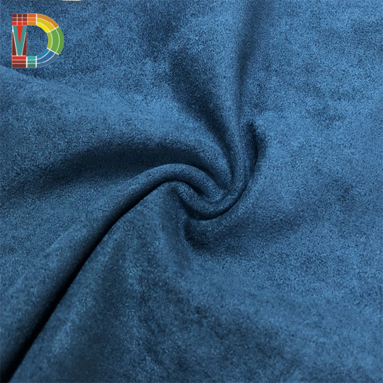 Wholesale Good quality 100% polyester faux synthetic suede fabric for Sofa,home textile,bag,coat