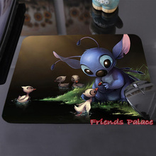 2015 Hot Sale Stitch Artwork Design Cute Customized Mouse Pad Computer Notebook Laptop Gaming Mouse Mat