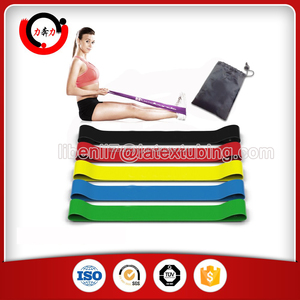 Natural Latex Mini Resistance Loop Band Set For Fitness / Workout / Training / Pilates / Bodybuilding / Crossfit