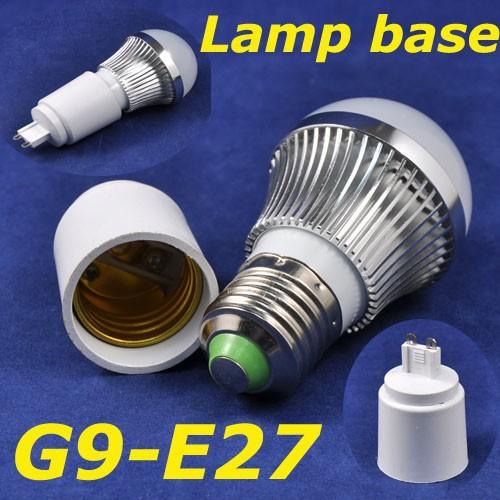 G9 To E27 Led Lamp Adapter Converter For Led Bulbs