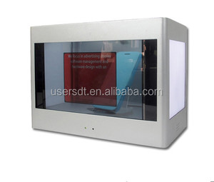 USER transparent lcd display types transparent advertising display with special design