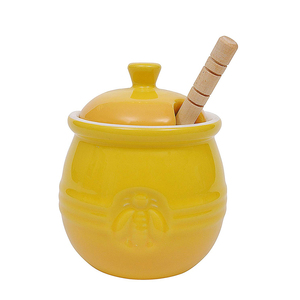 Ceramic Honey Jar With Dipper Supplieranufacturers At Alibaba