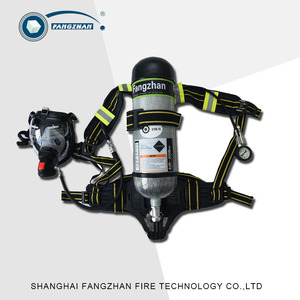 Firefighting Emergency Rescue Self-Contained Positive Air Breathing Apparatus SCBA with mask