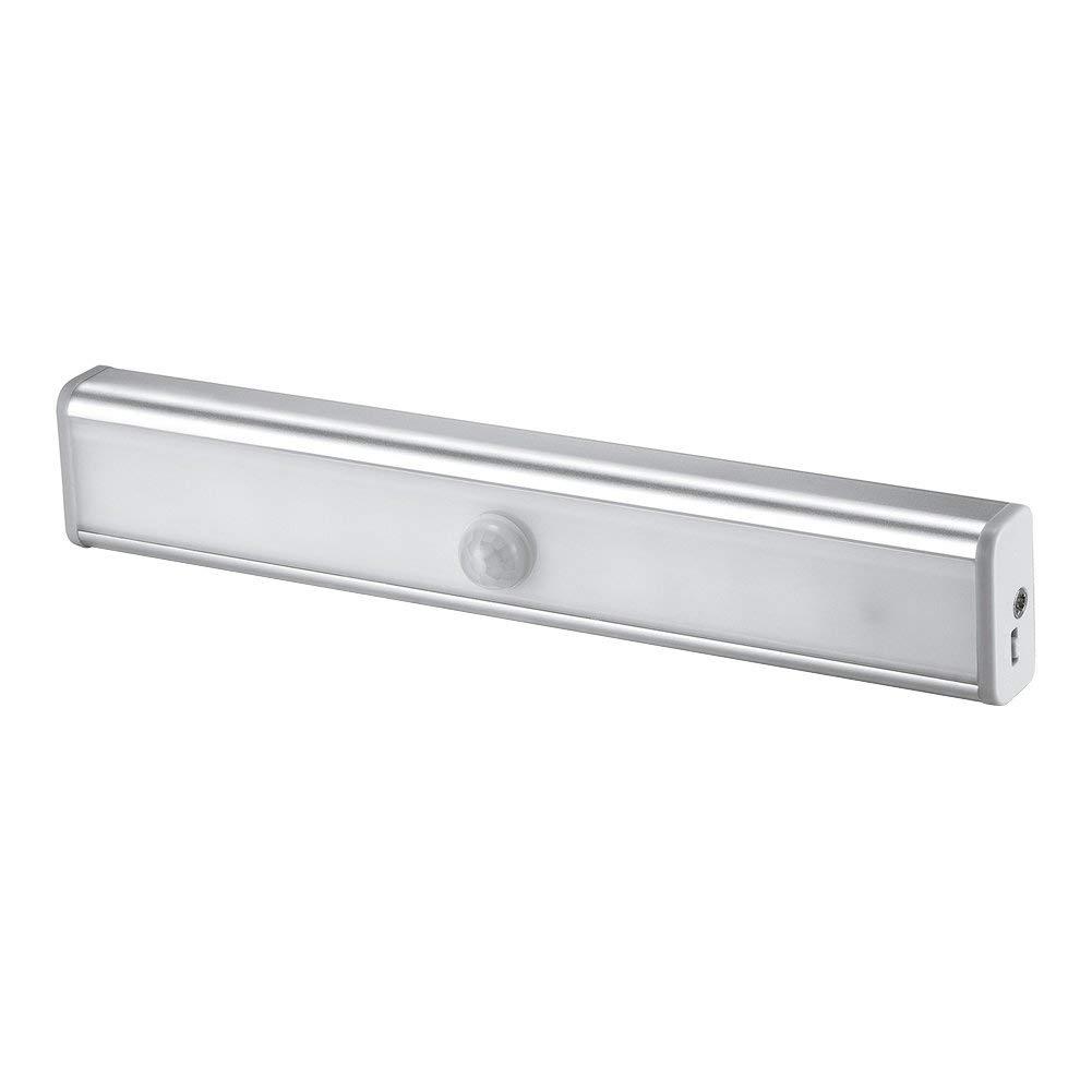 Awakingdemi Under Cabinet Lighting, USB Rechargeable LED Night Light with PIR Motion Sensor for Closet Cabinet