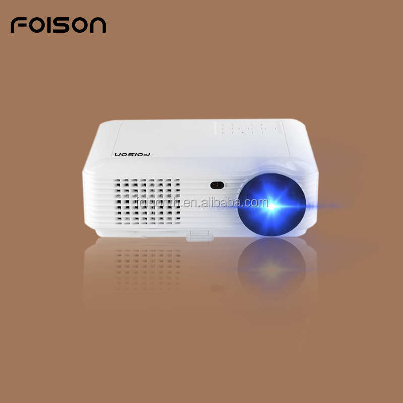 Attractive Desigh 4000 lumen WIFI TV Video Projector LED Light source Support Mirroirng Function And Android OS Pico Projector