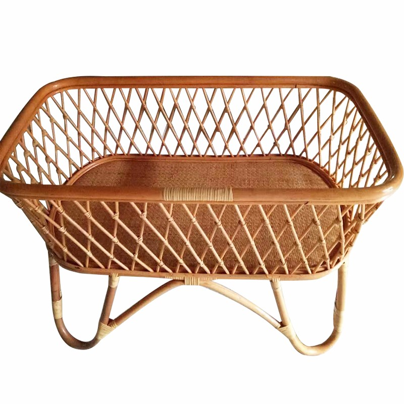 New design rattan baby cradle /baby crib /baby bed