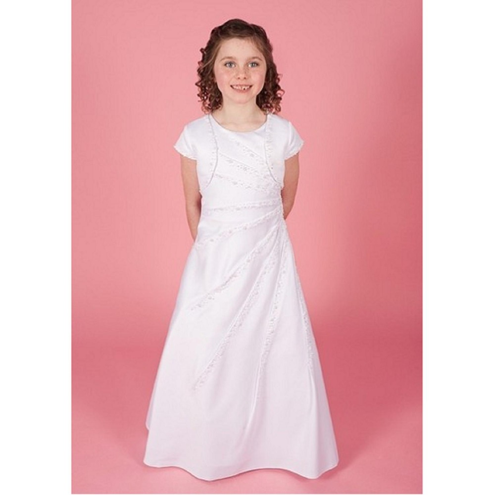 White Ivory First Communion Dresses Cute Little Girls Pageant Dresses,Ball  Gown Flower Girls Dress 2016 Vestido De Daminha - Buy Girls Communion ...