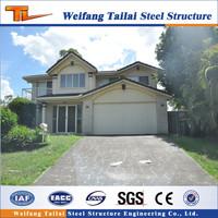 New prefabricated luxury prefab steel house villa