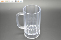 16oz Plastic Regency Beer Mug Plastic Glass