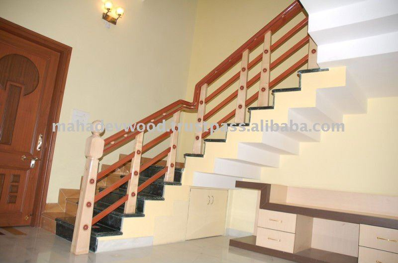 Modern Wood Stairs, Modern Wood Stairs Suppliers And Manufacturers At  Alibaba.com