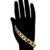 76049 Xuping new arrival simple design copper jewelry 18k gold plated chain bracelet for women