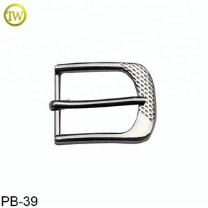 Customized High quality men simple pin metal belt buckle 30mm