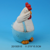 Cute ceramic chicken ornament for home decoration