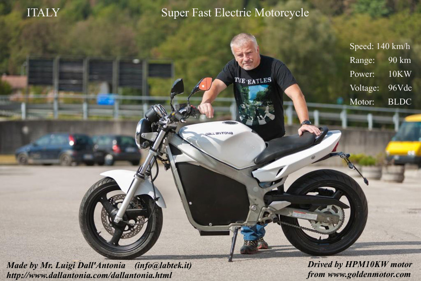 5kw Bldc Motor And Vec Controller For Electric Motorcycle