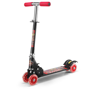 2018 Fashion Outdoor Children's Toy 4 Wheels Adjustable Height Kids Kick Scooters