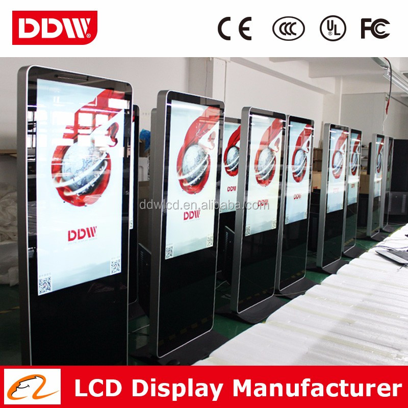 Retail Store Digital Signage Totem,Network 3G/Wifi Floor Stand 55 Inch Indoor Advertising Lcd Display/Digital Signage