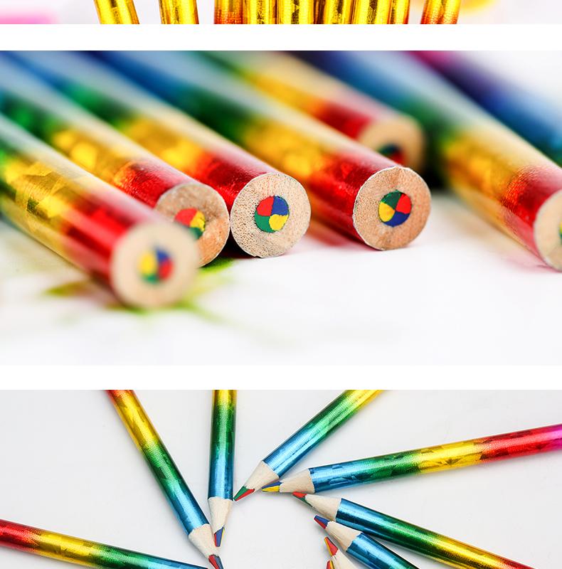 Foil Rainbow Colored Pencil - Buy Colored Pencil,Foil ...