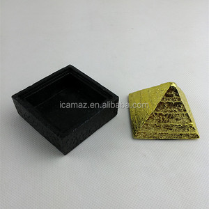 New Technology&Best selling Quantum Energy Fengshui Pyramid with Natural Mineral Stone good for you health