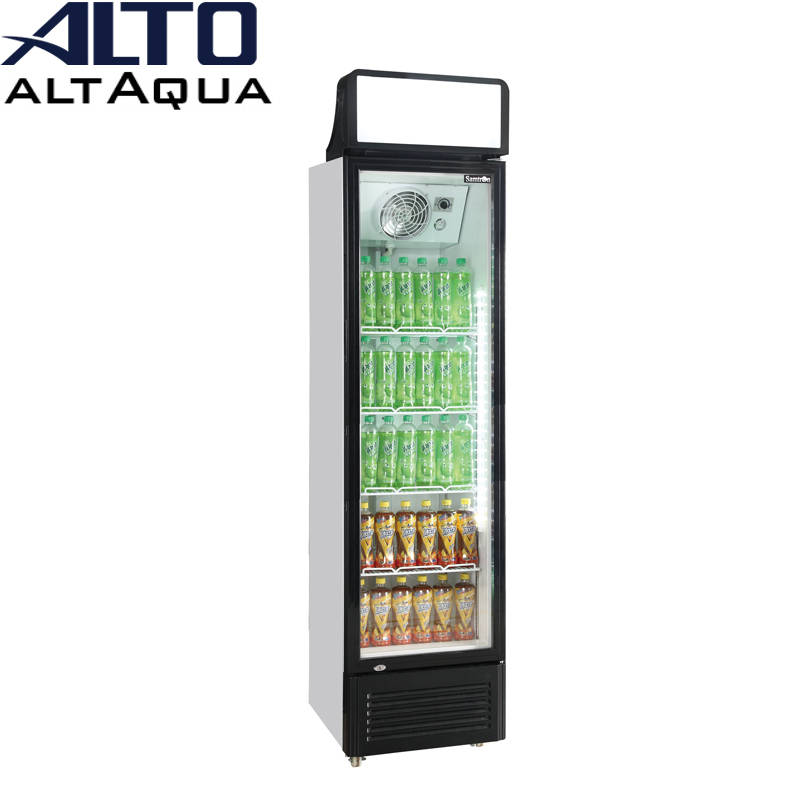 180w 300L single door coke portable refrigerated display cooler