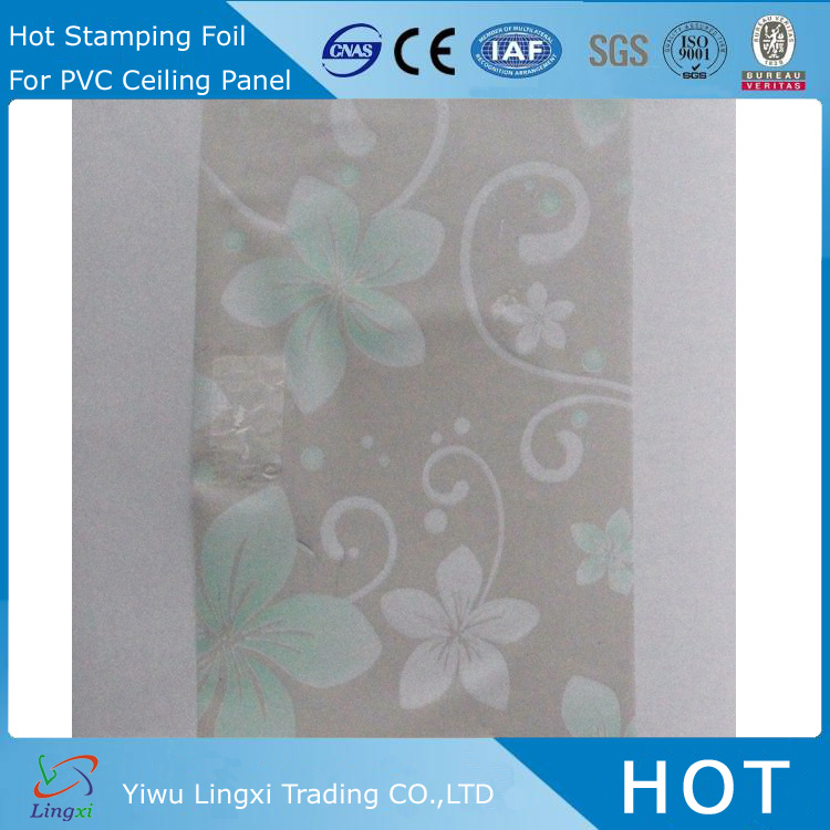 LXG2621 PVC Film Ceiling Heat Printing Transfer Films automatic foil stamping and die cutting machine
