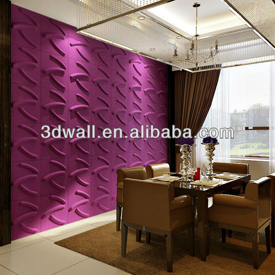 mdf interior panel decorativo de pared