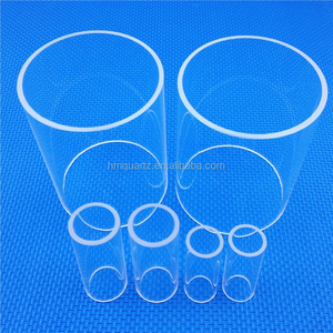 HM Fused High Quality Polished Infrared Heat Quartz Tube
