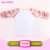 Fashion USA custom made children's icing ruffle raglan shirts Cotton 3/4 flower tshirts kids white body raglan baby gir kids