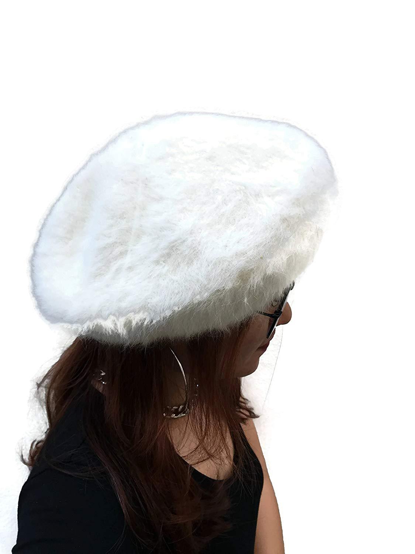 b9c4eaa38ea52 S.G. Instar Tom White Women Vintage Wool Beret Cap Fashion Beret Hat Beret  Hat
