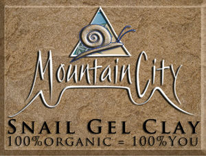 Snail Gel Clay by Mountain City Organics.