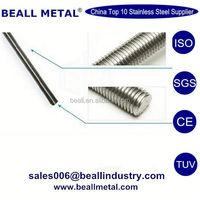 Thread rod din975 in hardware,zinc plated thread rod,thread bar hanger bolt