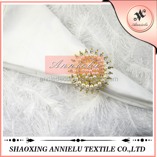 Bulk Wholesale Gold Napkin Ring For Weddings