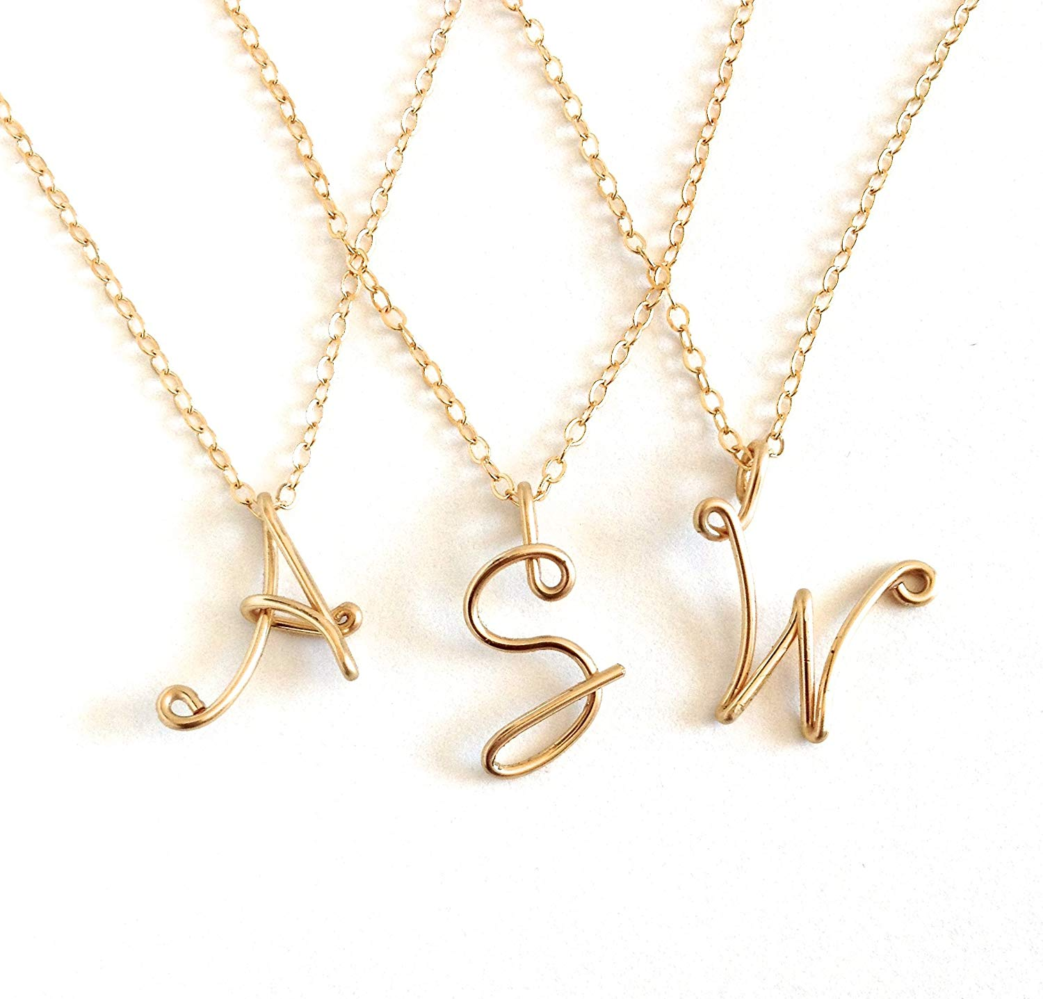 31d3948903e Cheap 14k Gold Initial Necklace, find 14k Gold Initial Necklace ...