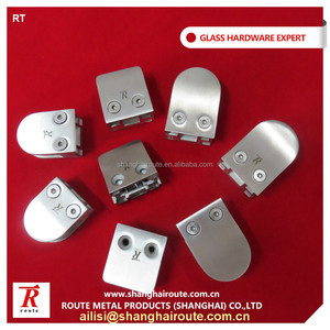 High Quality Stainless Steel Glass Clamp304/316 wall mount glass clamp OEM Customized