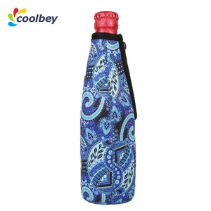 christmas neoprene garden foam big beer bottle can cooler cover