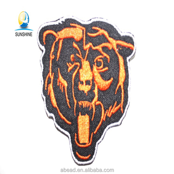 Wholesale Animal Tiger Embroidery Design Custom Embroidered Patches