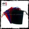 Brand new wholesale design small velvet drawstring bag