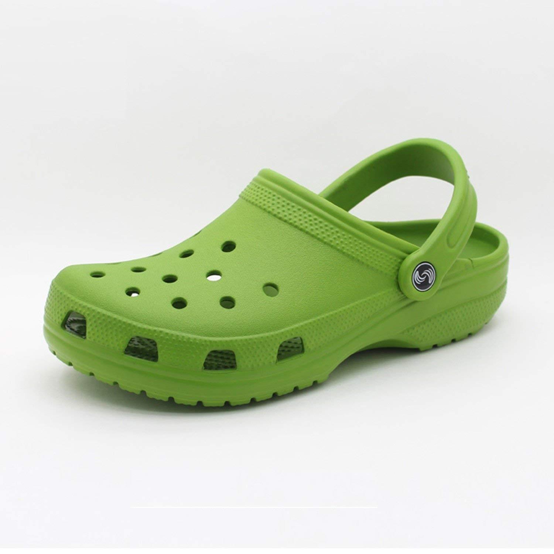 Buy Crocs Unisex Front Court Clog Shoes Uk 9 Uk Kelly Green