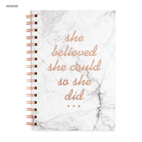 Custom Printing Day Weekly Monthly Goal Planner Notebook
