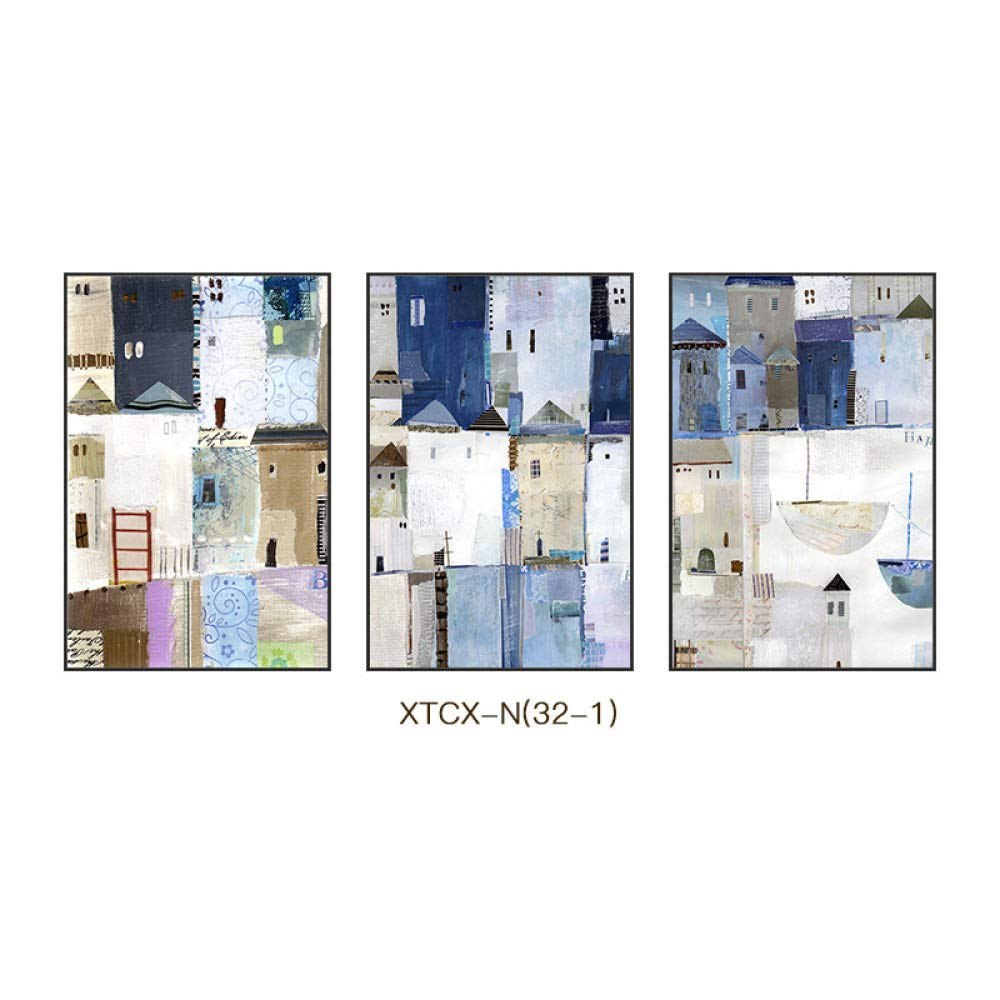 PLLP Abstract pattern character hanging painting, modern simple European style creative style with frame decoration painting, wall decoration painting, fashion living room painting